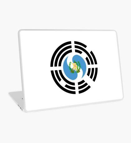 Korean Guatemalan Multinational Patriot Flag Series Laptop Skin