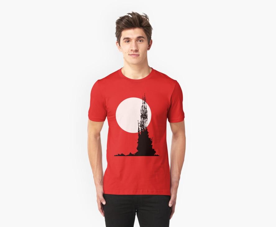 Moonrock Spire ~ T Shirt Edition by Samantha Creary