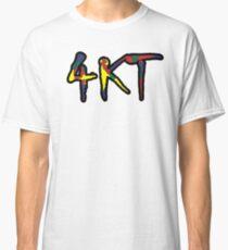 4KT Hip Hop Gang Farbiger Junge Classic T-Shirt