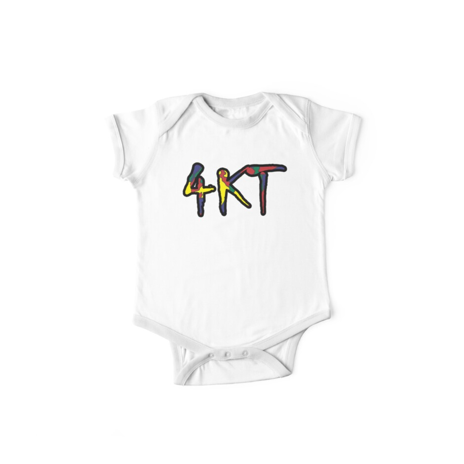 4kt hip hop gang colored youngboy short sleeve baby one piece by fablofreshcobar redbubble - What is 4kt gang ...