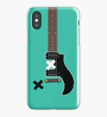 Michael's Green Guitar iPhone Case