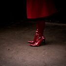 red boots by Tony Day