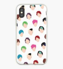 Vinilo o funda para iPhone Michael Multiple Hair