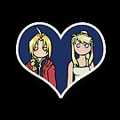 Edward and Winry - shipping dolls by RainytaleStudio
