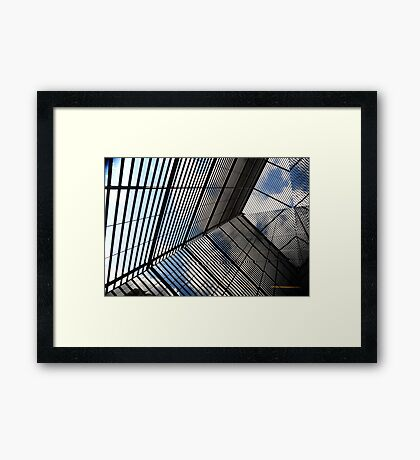 Reflections & Lines London Framed Print