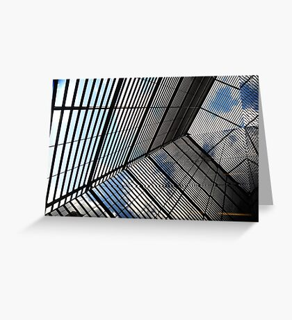 Reflections & Lines London Greeting Card