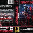 Detroit Living City VHS Trid art by ErikFrankhouse