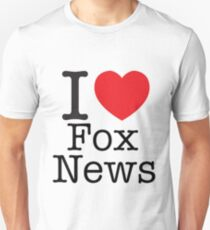 I LOVE Fox News T-Shirt