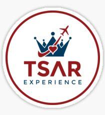 Tsar Experience Full Logo Designs Sticker