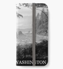 Ruby Beach Washington iPhone Wallet/Case/Skin