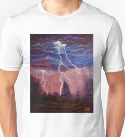 Thunder and lightning storm T-Shirt