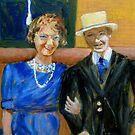 Grandmom & Grandpop Kelly, Circa 1920's by Marita McVeigh