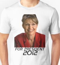 Sarah Palin For Presdient 2012 T-Shirt