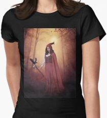 Little Red Witch Women's Fitted T-Shirt