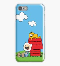 Peanuts time iPhone Case/Skin