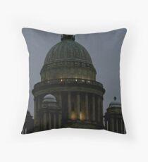 r.i. statehouse Throw Pillow