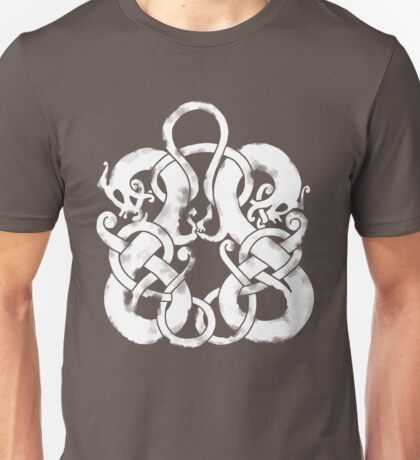 Twin Norse Dragons T-Shirt