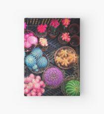 Cactus rainbow Hardcover Journal