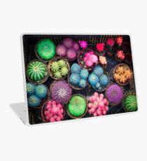 Cactus rainbow Laptop Skin