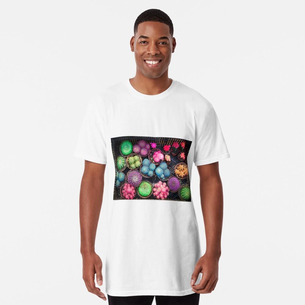 Cactus rainbow Long T-Shirt