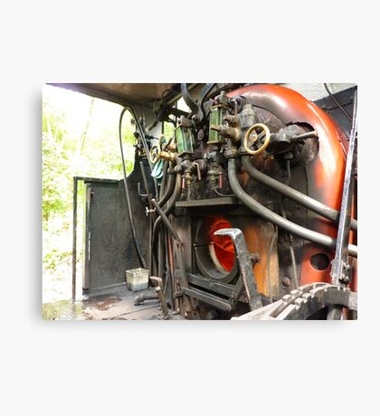 Faceplate of Repulse engine No 3698   Canvas Print