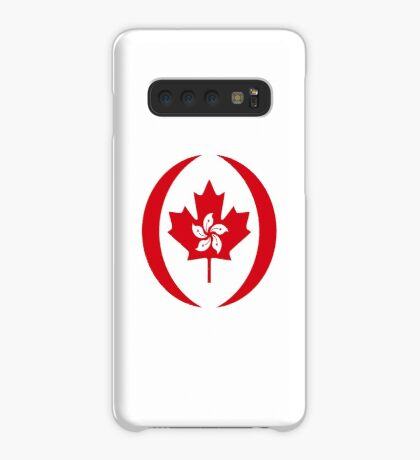 Hong Konger Canadian Multinational Patriot Flag Series Case/Skin for Samsung Galaxy