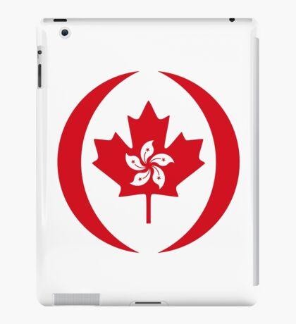 Hong Konger Canadian Multinational Patriot Flag Series iPad Case/Skin