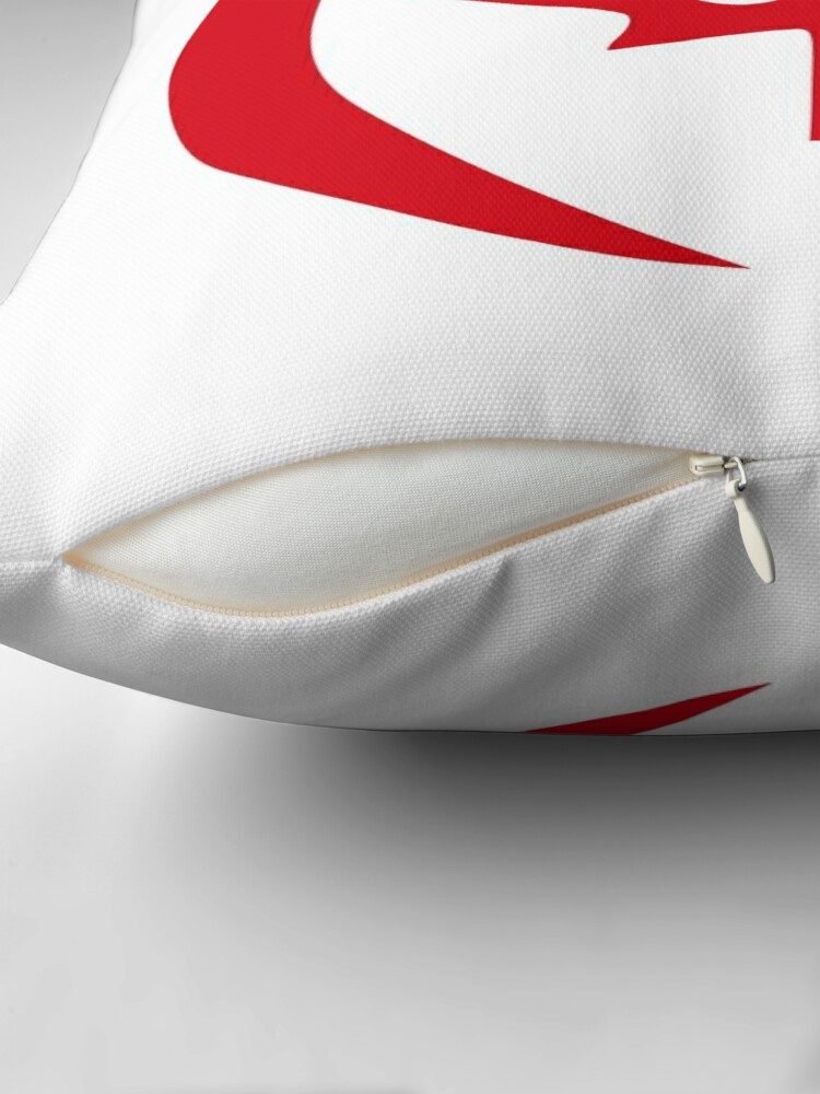 Alternate view of Hong Konger Canadian Multinational Patriot Flag Series Throw Pillow