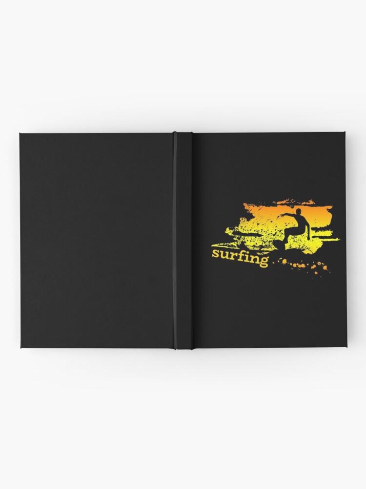 Vista alternativa de Cuaderno de tapa dura Surf surf surfistas surf tabla surf ola regalo