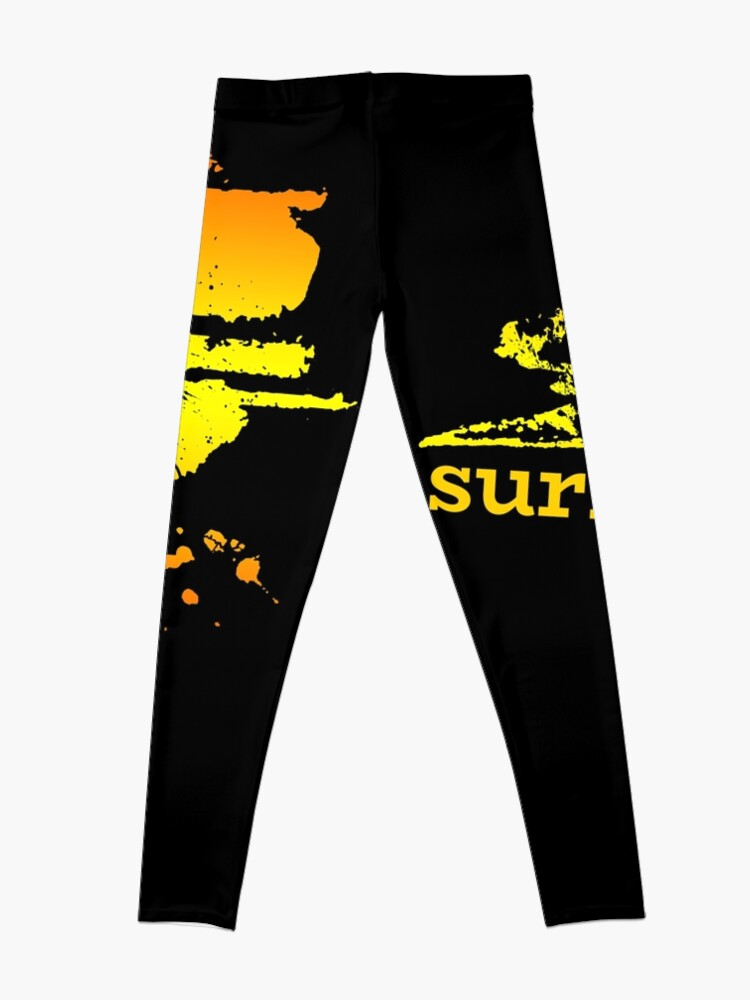 Vista alternativa de Leggings Surf surf surfistas surf tabla surf ola regalo