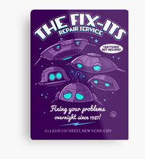 The Fix-Its Repair Service Metal Print