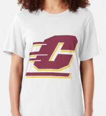 central micighan university Slim Fit T-Shirt