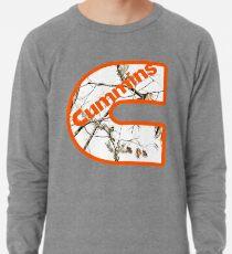 fcc30d55a White Orange Cummins Lightweight Sweatshirt