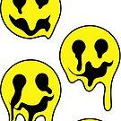 Melting Smileys by Shayli Kipnis
