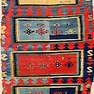 Sivas  Antique Cappadocian Turkish Kilim by Vicky Brago-Mitchell