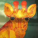 A Giraffe's Reflection  by PETAbstractA
