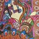 Henna Hand Festive Design  by PETAbstractA