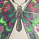 Metallic Butterfly  by PETAbstractA