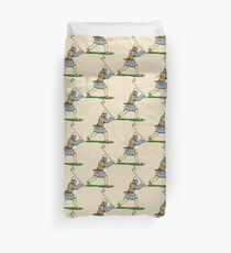 Viking Warrior Duvet Cover