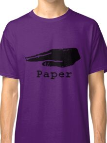 Rock Paper Scissors T-shirt (PAPER) Classic T-Shirt