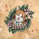 YAAAS Cat by MoxxiFoxxy