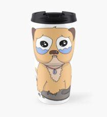 Sad Puppy Travel Mug