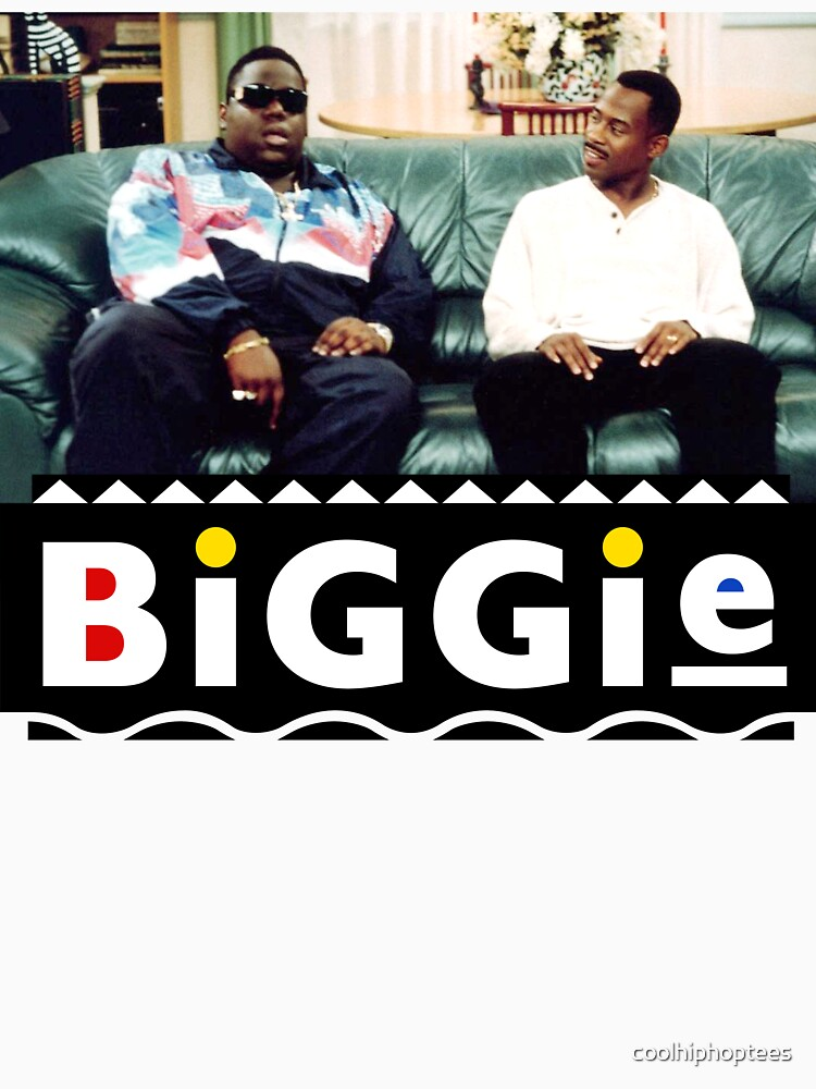 Biggie And Martin 90s Sitcom Hip Hop T-Shirt by coolhiphoptees