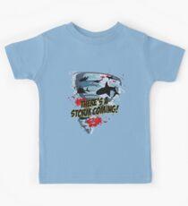 Camiseta para niños Shark Tornado - Shark Cult Película - Shark Attack - Shark Tornado Horror Película Parody - Storm's Coming!