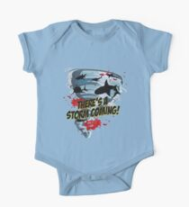 Shark Tornado - Shark Cult Movie - Shark Attack - Shark Tornado Horror Movie Parody - Storm's Coming! One Piece - Short Sleeve