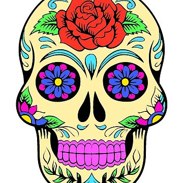 Sugar skull by franceslewis