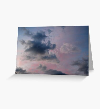 Summer Solstice Sunset Greeting Card