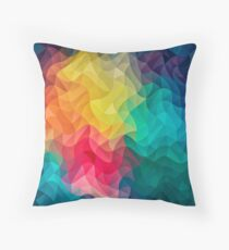 Abstract Color Wave Flash Kissen