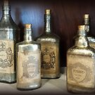 Vintage Bottles by Tiffany Reed
