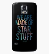 We Are Made of Star Stuff - Carl Sagan Quote Case/Skin for Samsung Galaxy